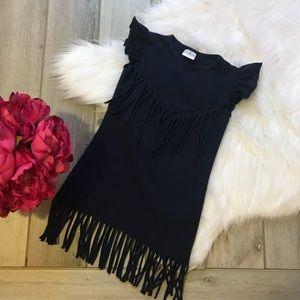 {•Boho Gypsy Fringe Toddler Dress•}